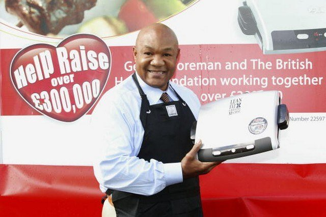 George Foreman Gives London A Grilling