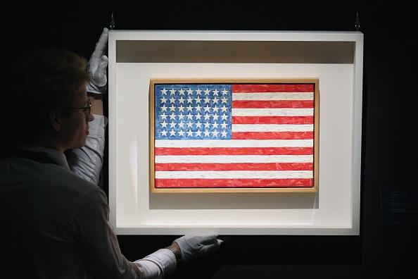 """""""Flag"""" by Jasper Johns"""
