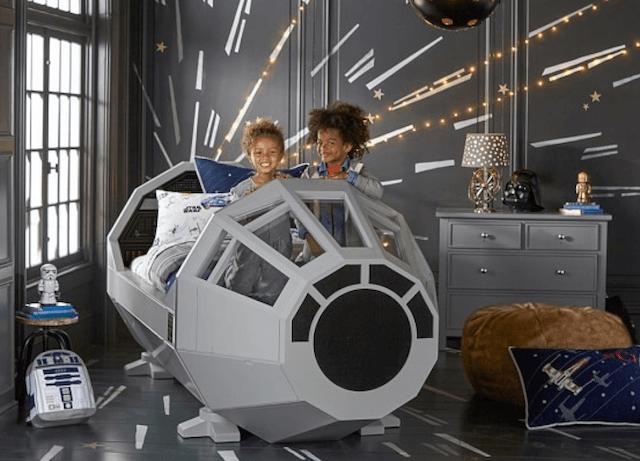 Star Wars Kids Bed