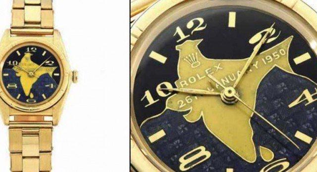 Dr. Rajendra Prasad's Gold Rolex Oyster