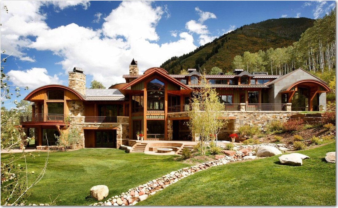 The most expensive luxury log homes for Luxury log home