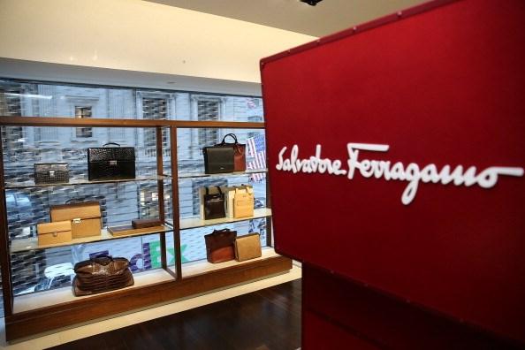 Salvatore Ferragamo Men's Customization Event With Esquire