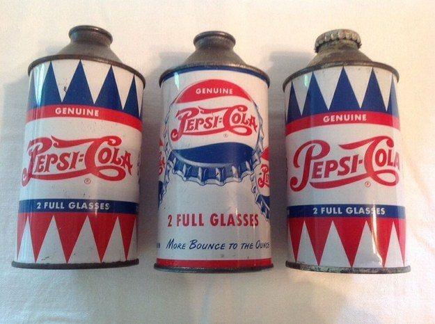 Unopened Classic Pepsi Cans