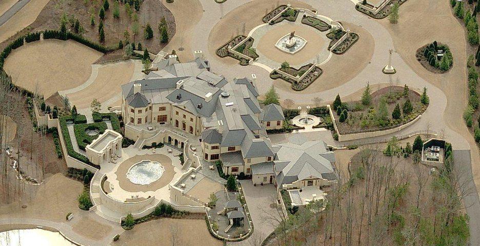Billionaire Addresses - Le Reve Mansion And Estate