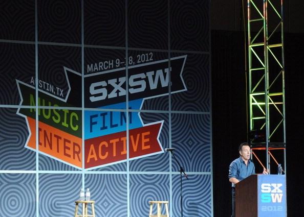 SXSW Keynote: Bruce Springsteen - 2012 SXSW Music, Film + Interactive Festival
