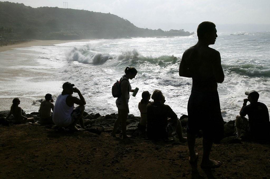 Big Waves Hit Hawaii's North Shore