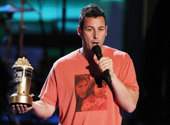 Adam Sandler at the MTV Movie Awards