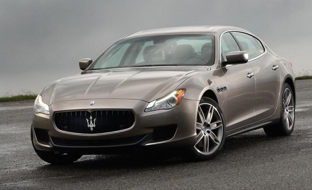 The 2015 Maserati Quattroporte Ermenegildo Zegna Limited Edition