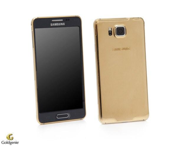 24 Carat Gold Plated Samsung Galaxy Alpha