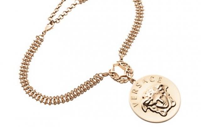 Versace Emblem Medusa Pendant Necklace