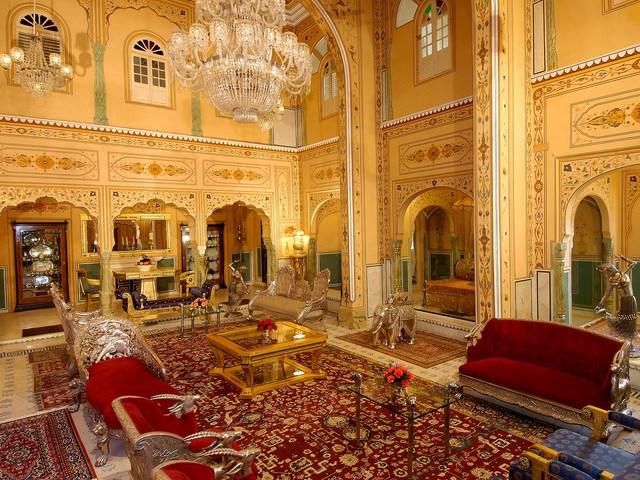 Shahi Mahal Suite at The Raj Palace
