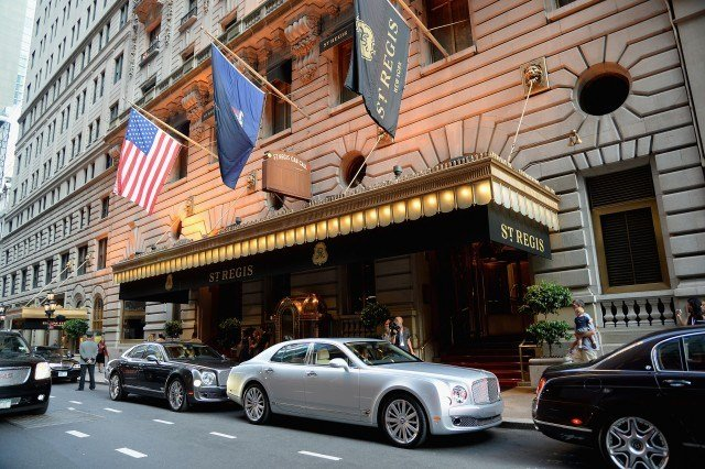 The 10 nicest st regis hotels in the united states for Most expensive hotel in america