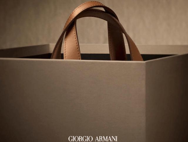 Armani bag 40 Anniversary
