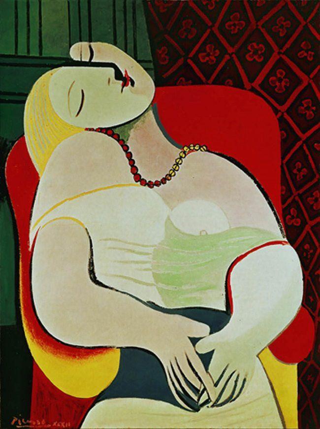 La Reve by Pablo Picasso