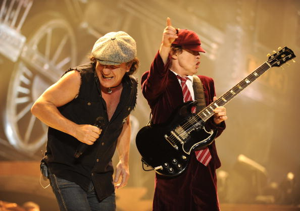 """AC/DC """"Black Ice"""" Tour Opener on October 28, 2008 in Wilkes-Barre, Pennsylvania."""