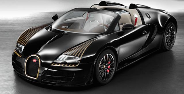 Black bess bugatti