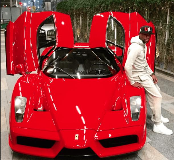 Floyd Mayweather Enzo Ferrari