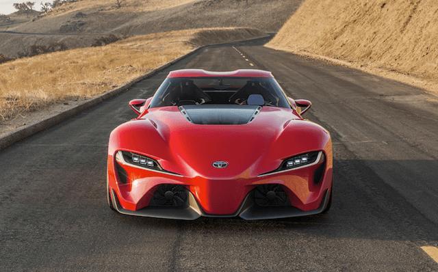 Futuristic cars in development - Toyota FT-1