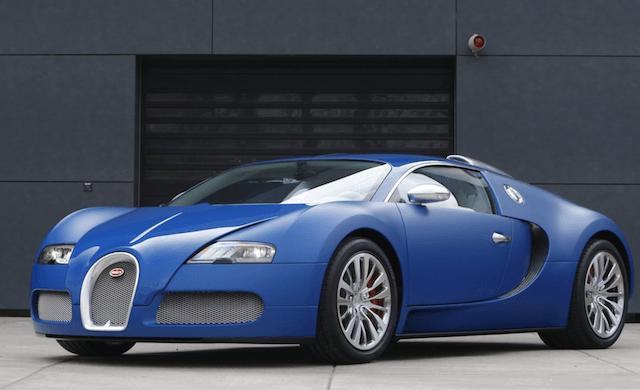 The Veyron Bleu Centenaire