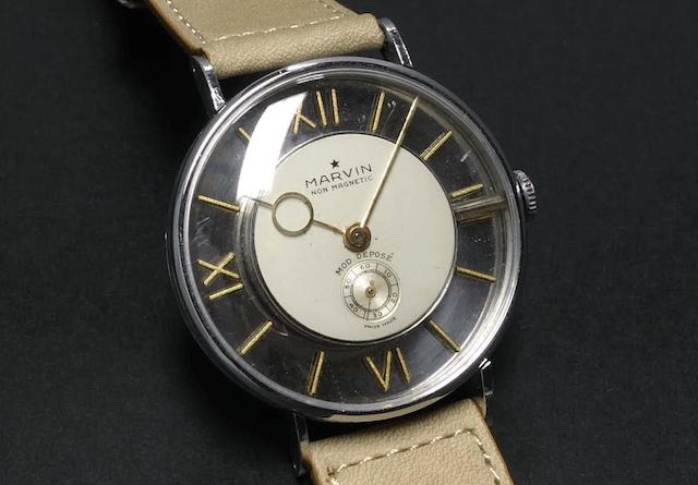 1940s Marvin Skeleton Watch