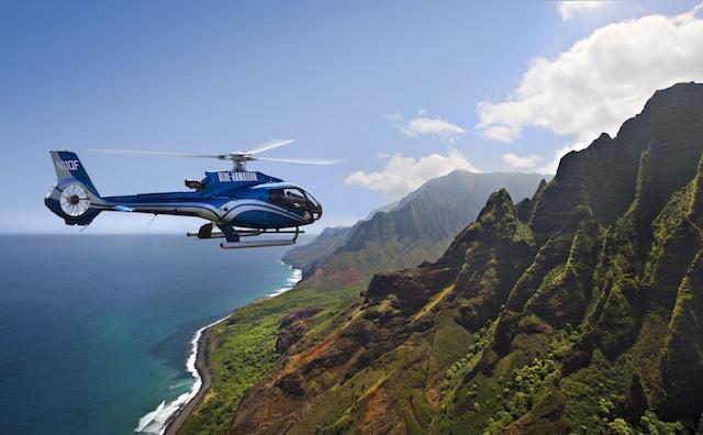 Hawaiian Luxury Flying Experience
