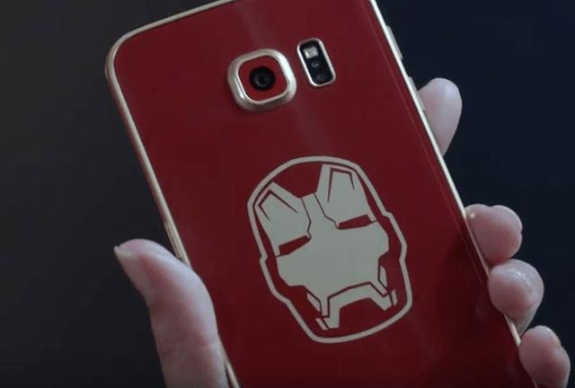 Iron Man Galaxy S6 Edge 2