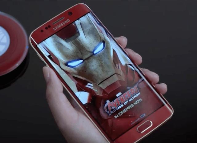 Iron Man Galaxy S6 Edge 3