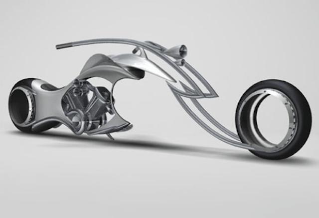 Swordfish motorcycle