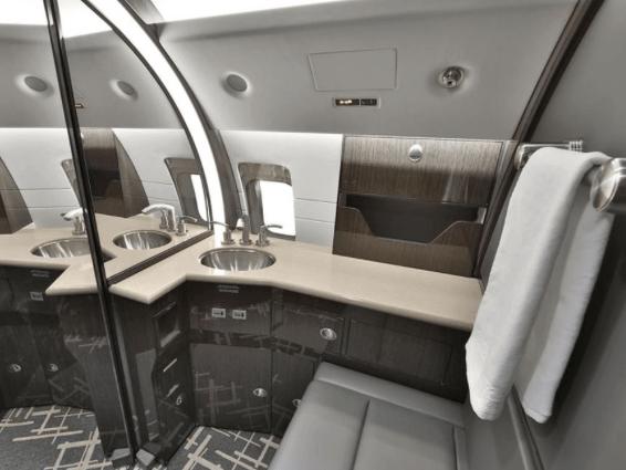 Jet Aviation Private Jet Interior 3