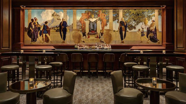 The King Cole Bar at the St. Regis