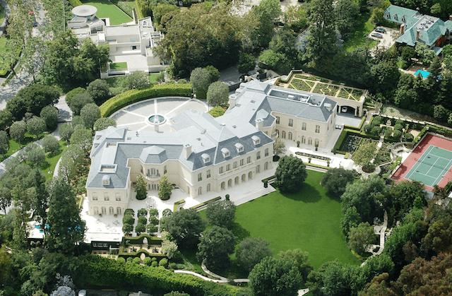 Celebrity Homes - Aaron Spelling's The Manor