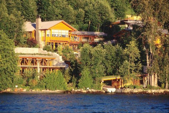 Celebrity Homes - Bill Gates House