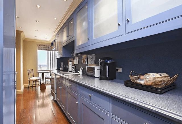 Cristiano Ronaldo New York Apartment kitchen