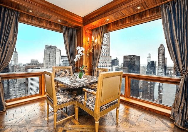 Cristiano Ronaldo New York Apartment nook