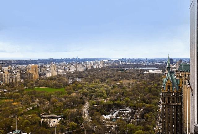 Cristiano Ronaldo New York Apartment view