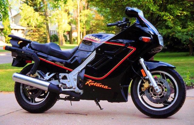 1990 Suzuki GSX1100F Katana