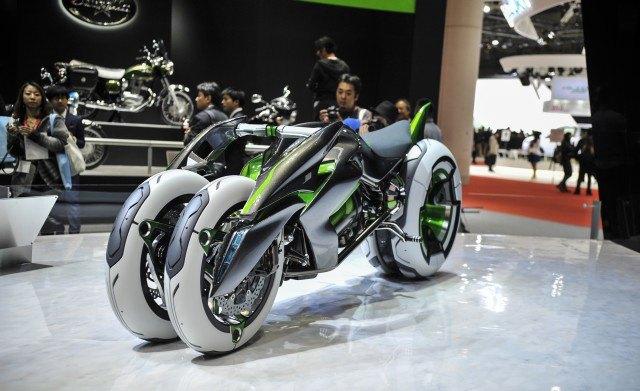 Future of Motorcycles - Kawasaki J Concept