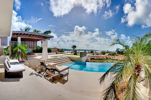 Ani Estate main pool and patio