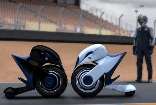 Future of Motorcycles - BMW Halbo