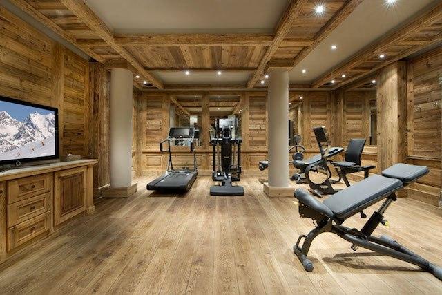 Chalet Edelweiss fitness center