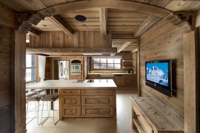 Chalet Edelweiss kitchen
