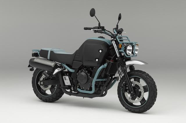 Future of Motorcycles - Honda Bulldog