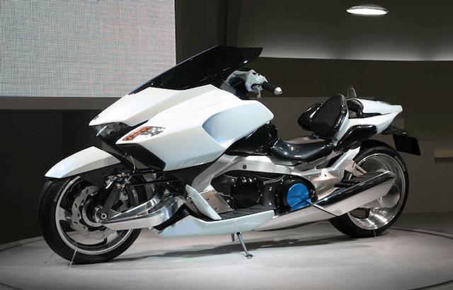 Future of Motorcycles - Suzuki G-Strider