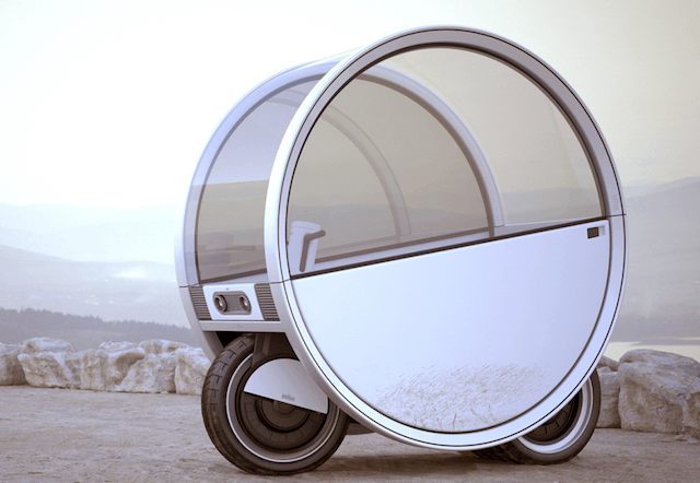 Future of Motorcycles - The Moon