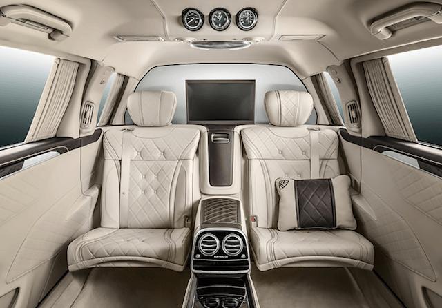 2016 Mercedes-Maybach Pullman interior 2