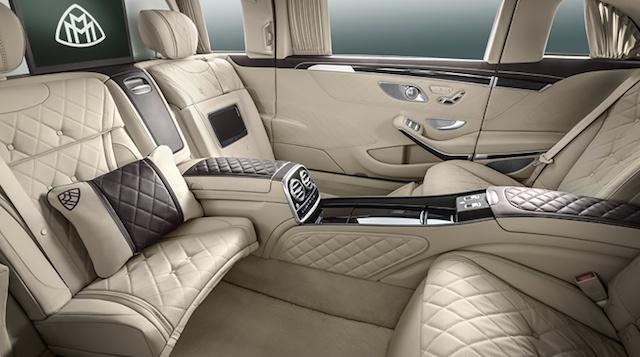 2016 Mercedes-Maybach Pullman interior