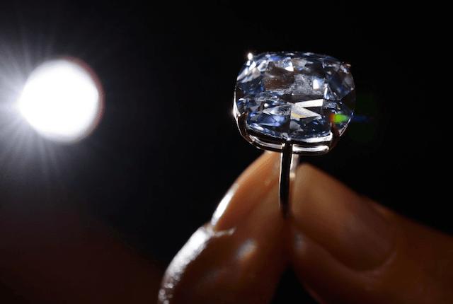$48.4 Million dollar Blue Moon Diamond