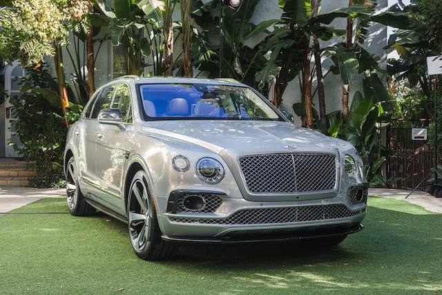 Bentley Debuts Bentayga SUV First Edition
