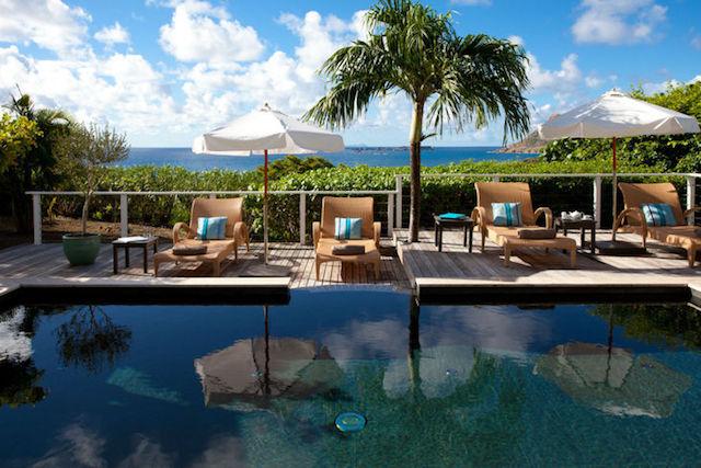 Hôtel Le Toiny villa pool