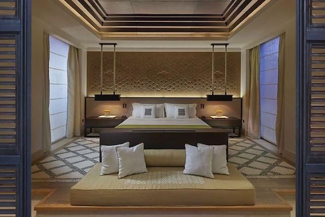 Mandarin Oriental Marrakech bed